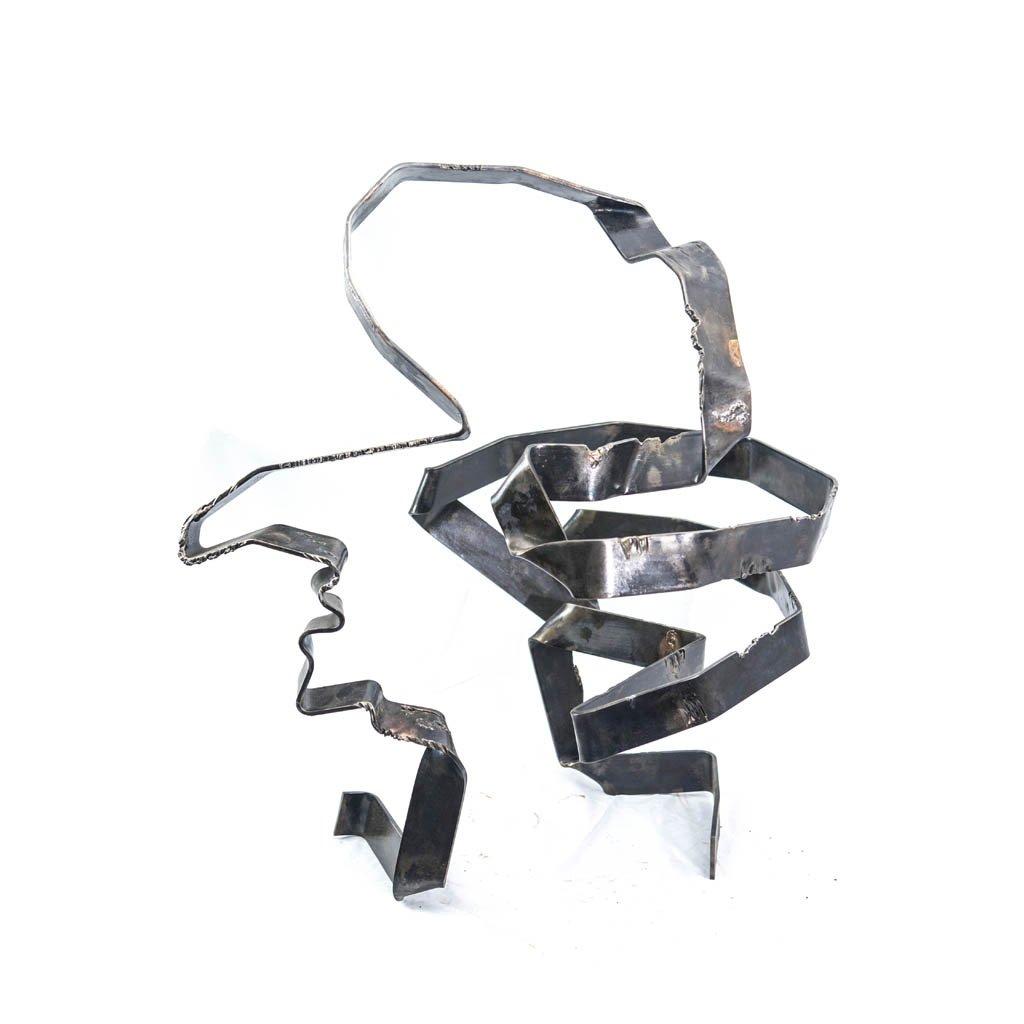 Authentic copy XII   Iron   2017    Sculpture   Rami Ater   רמי אטר