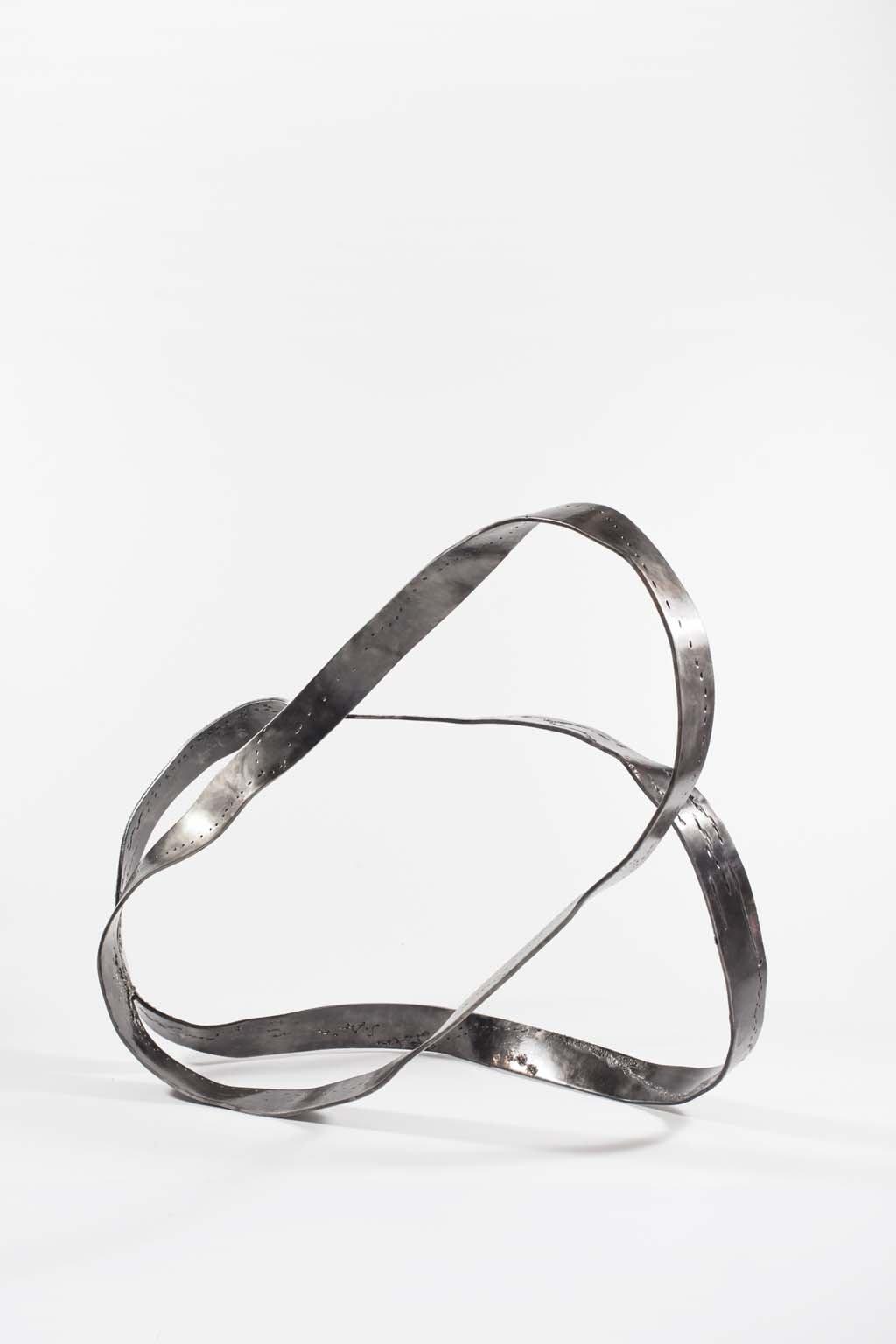Oblivion I   2015 I  Iron & brass sculpture   Rami Ater   רמי אטר
