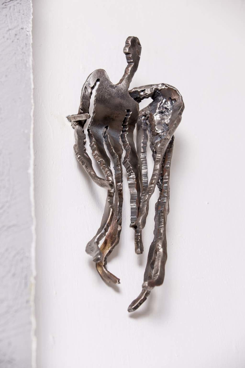Rami Ater | ' Compassion I ' | Iron Sculpture| Exhibition | Artist wall
