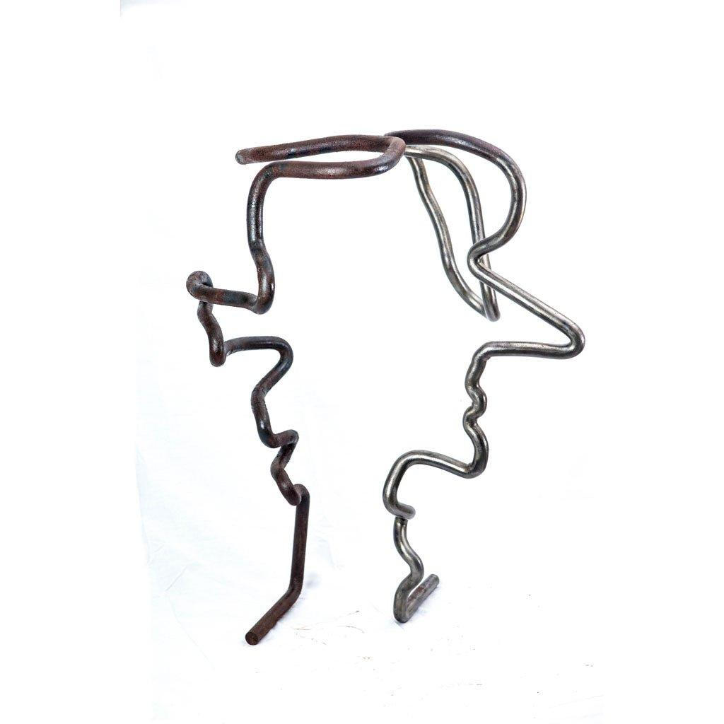 Authentic copy XIV | 2016| Iron sculpture | 85x65x52cm | Rami Ater
