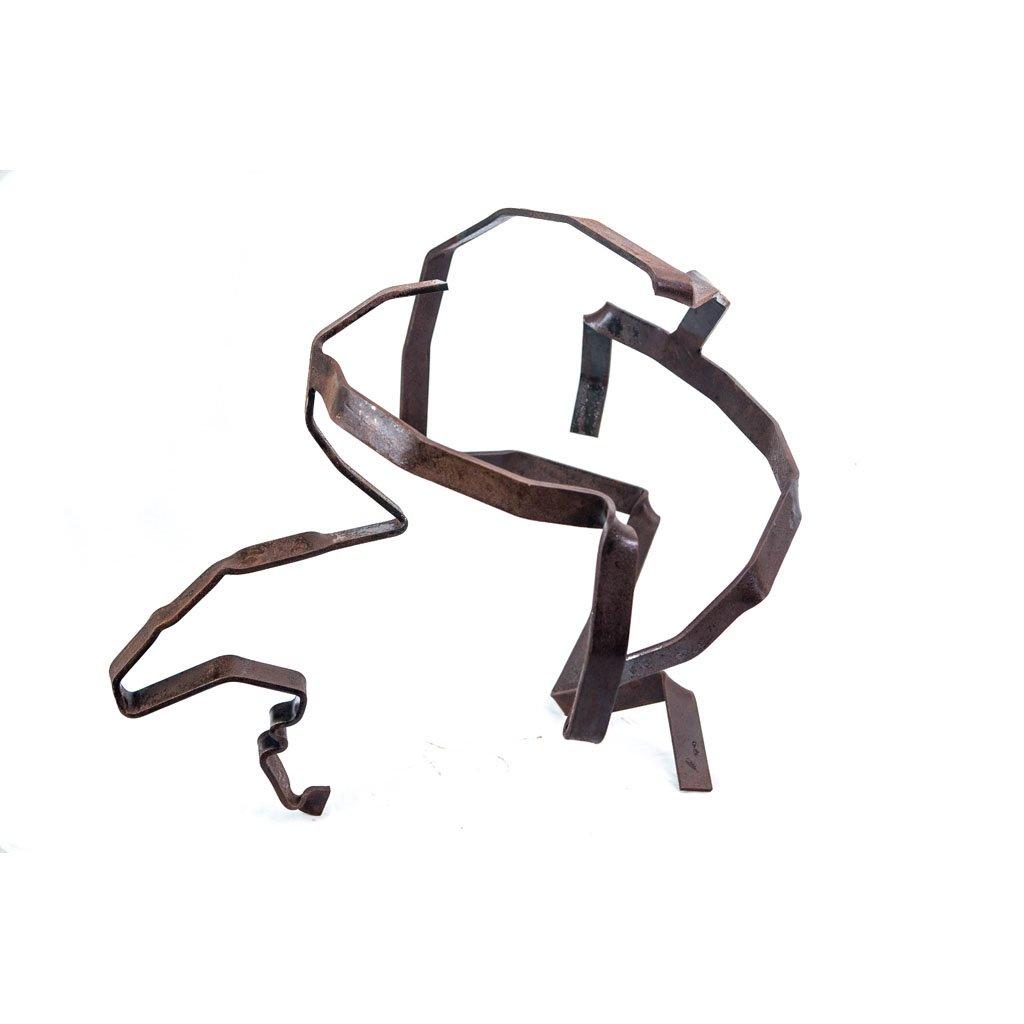Authentic copy VII | 2017 | Iron sculpture | 48x60x58cm | Rami Ater