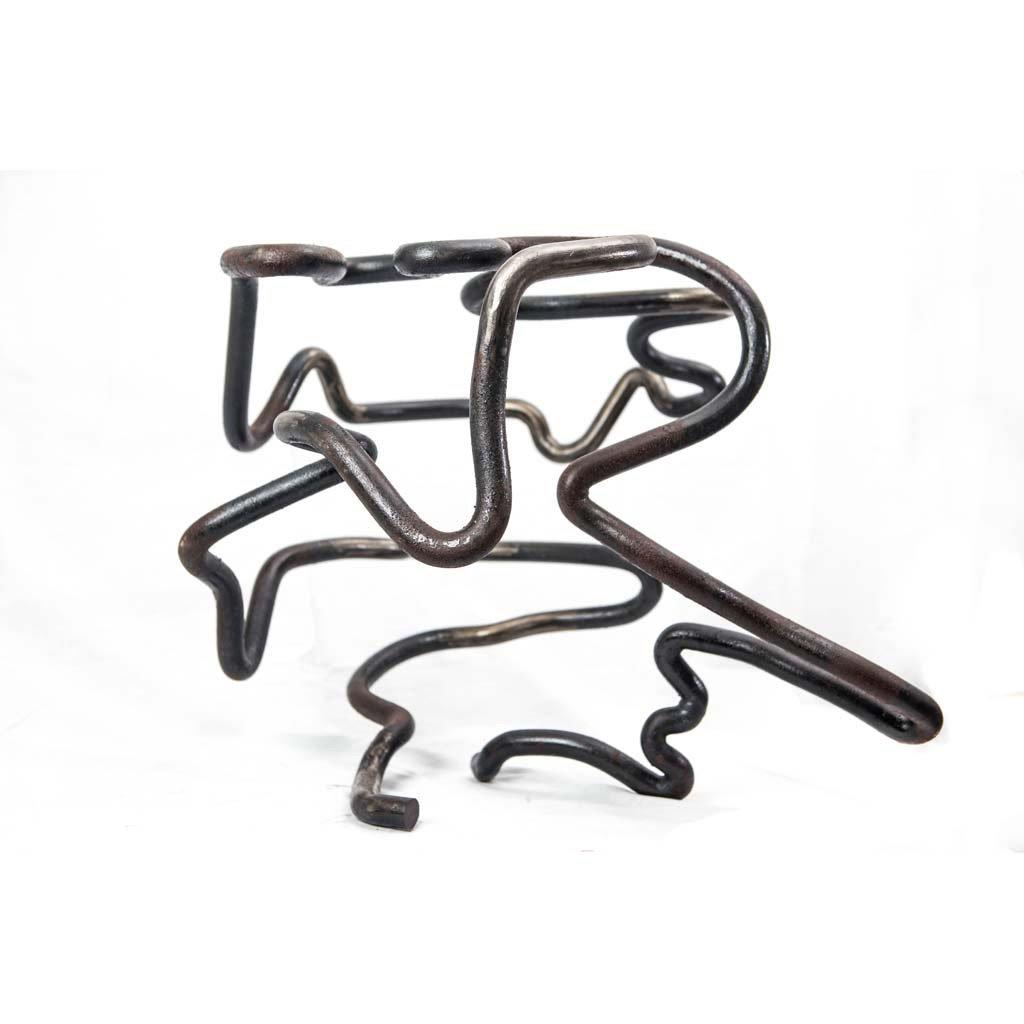 Authentic copy IV | 2017 | Iron sculpture  | Rami Ater