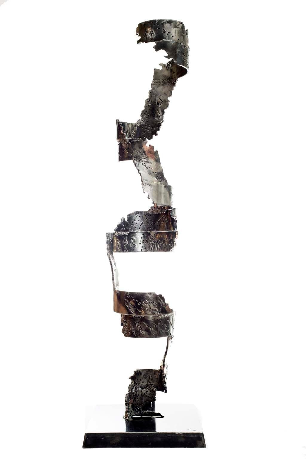 Insights IV | 2013 | Iron & brass sculpture of the Israeli artist, sculptor Rami Ater