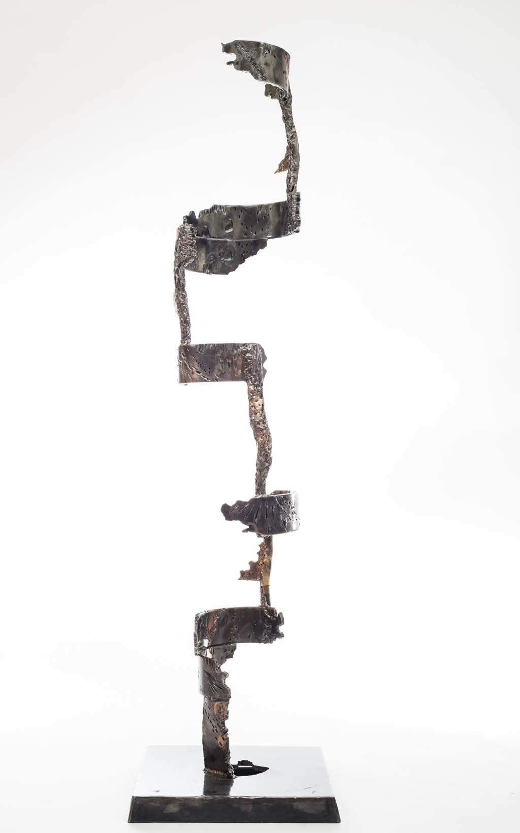 Insights II | 2014 | Iron & brass sculpture of the Israeli artist, sculptor Rami Ater