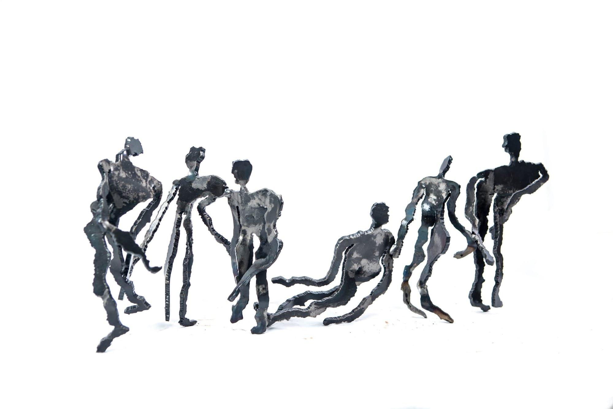 The Way to VII | 2017 | Iron | 26x60x16 cm | Rami Ater