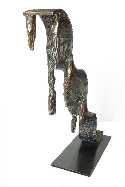 Life II | 2012 | Iron & brass sculpture of the Israeli artist, sculptor Rami Ater