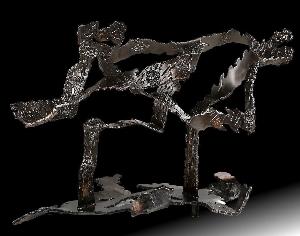 No title | 2014 | Iron & brass | 95x110x60cm | Rami Ater