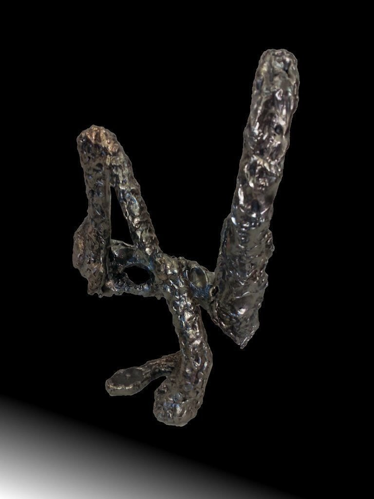 Not a dancer (34) | 2015 | Iron & brass | 36x25x28cm | Rami Ater