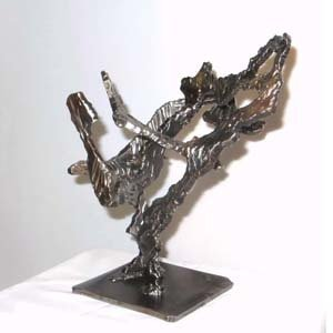 Rami Ater, Sculptor, Other works, Iron and brass sculptures
