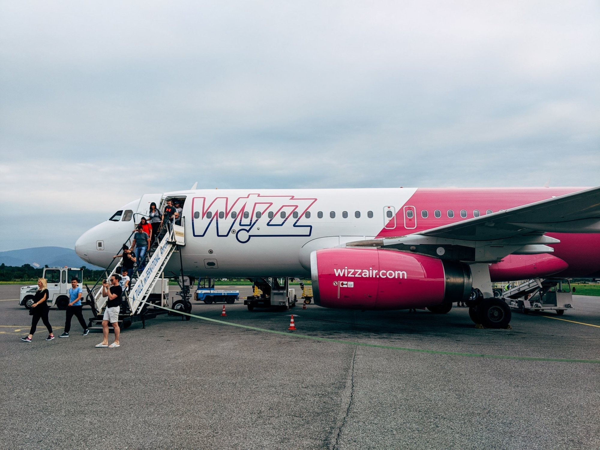 Wizz Air at St Petersburg Airport Pulkovo