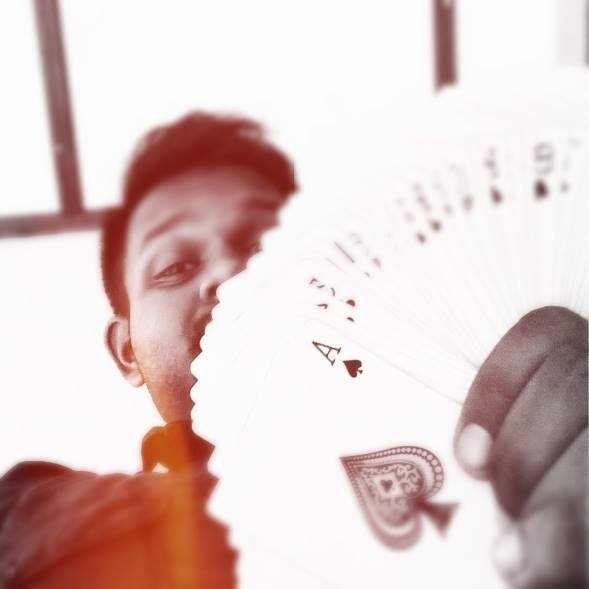 Ranz with playing cards