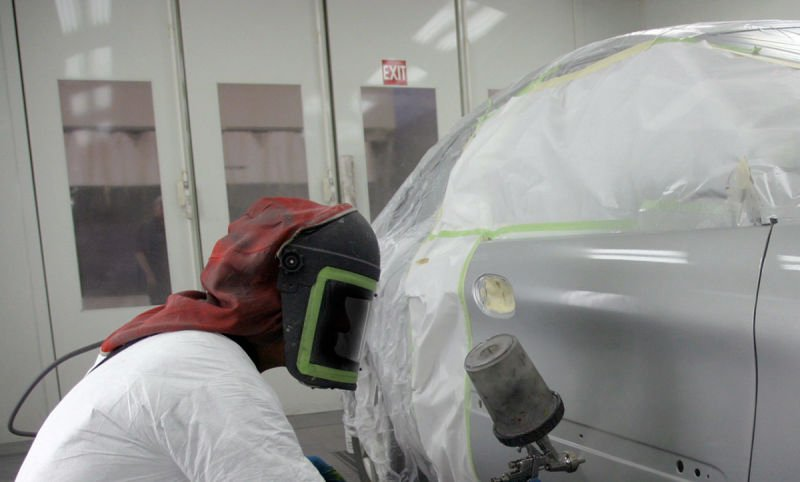 What are Spray Paint Booths?