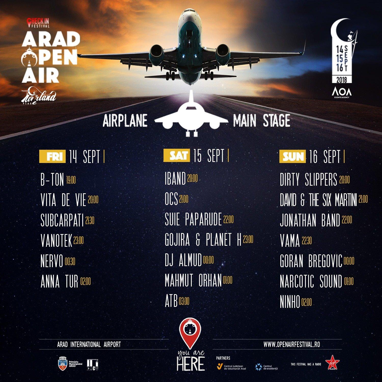 Aradi Open Air Fesztival programok