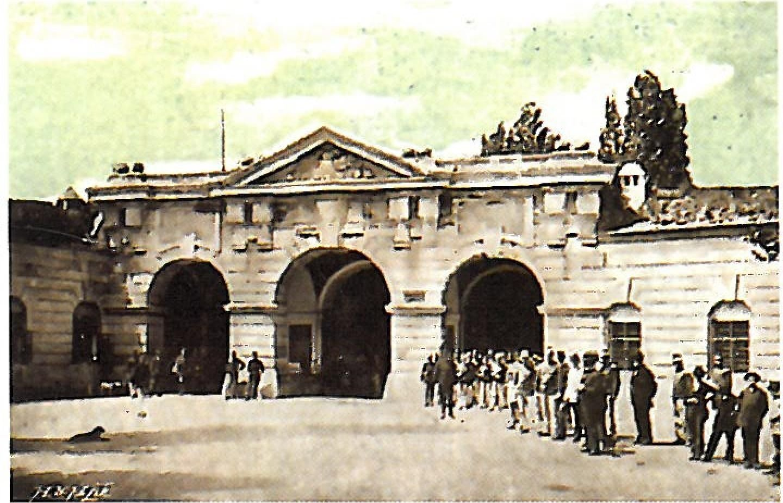 Intrare Cetatea Arad