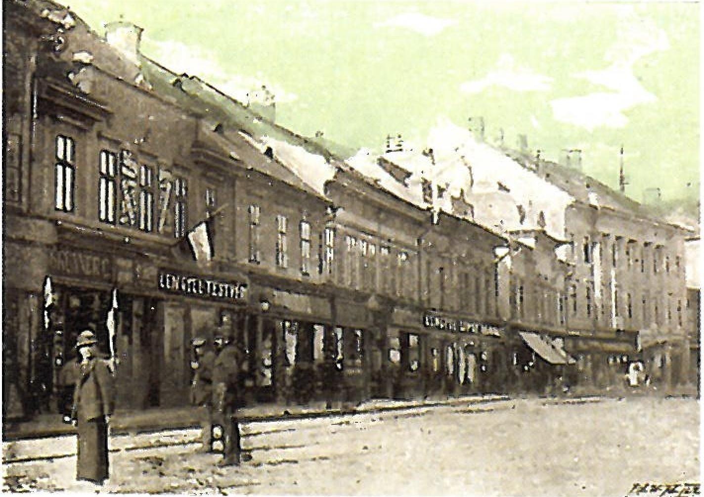 Piata Libertatii - Avram Iancu - Arad 1900