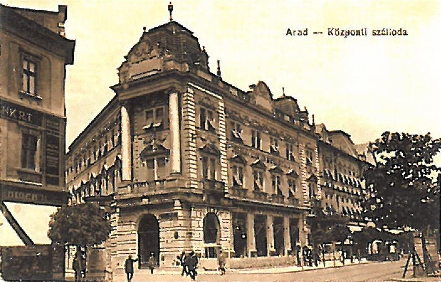 Hotel Central Arad 1900