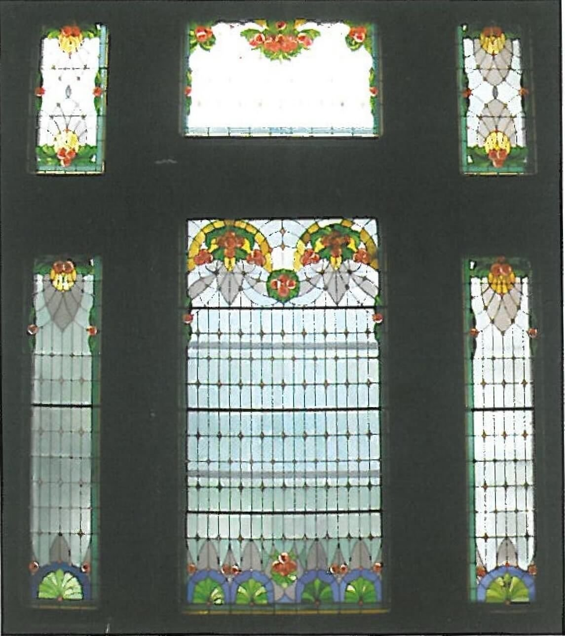 vitralii palat cultural arad