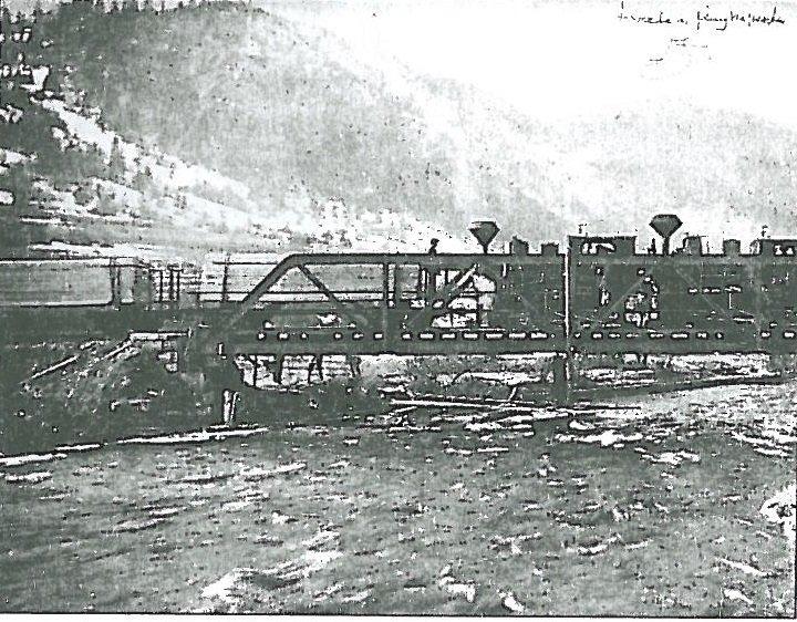 vasúti híd Déznán Arad vármegyében