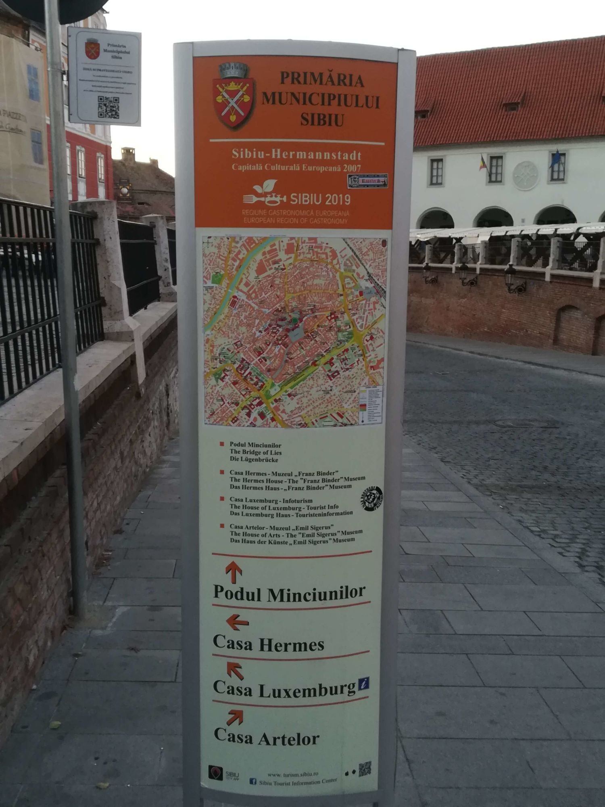 indicator turistic sibiu
