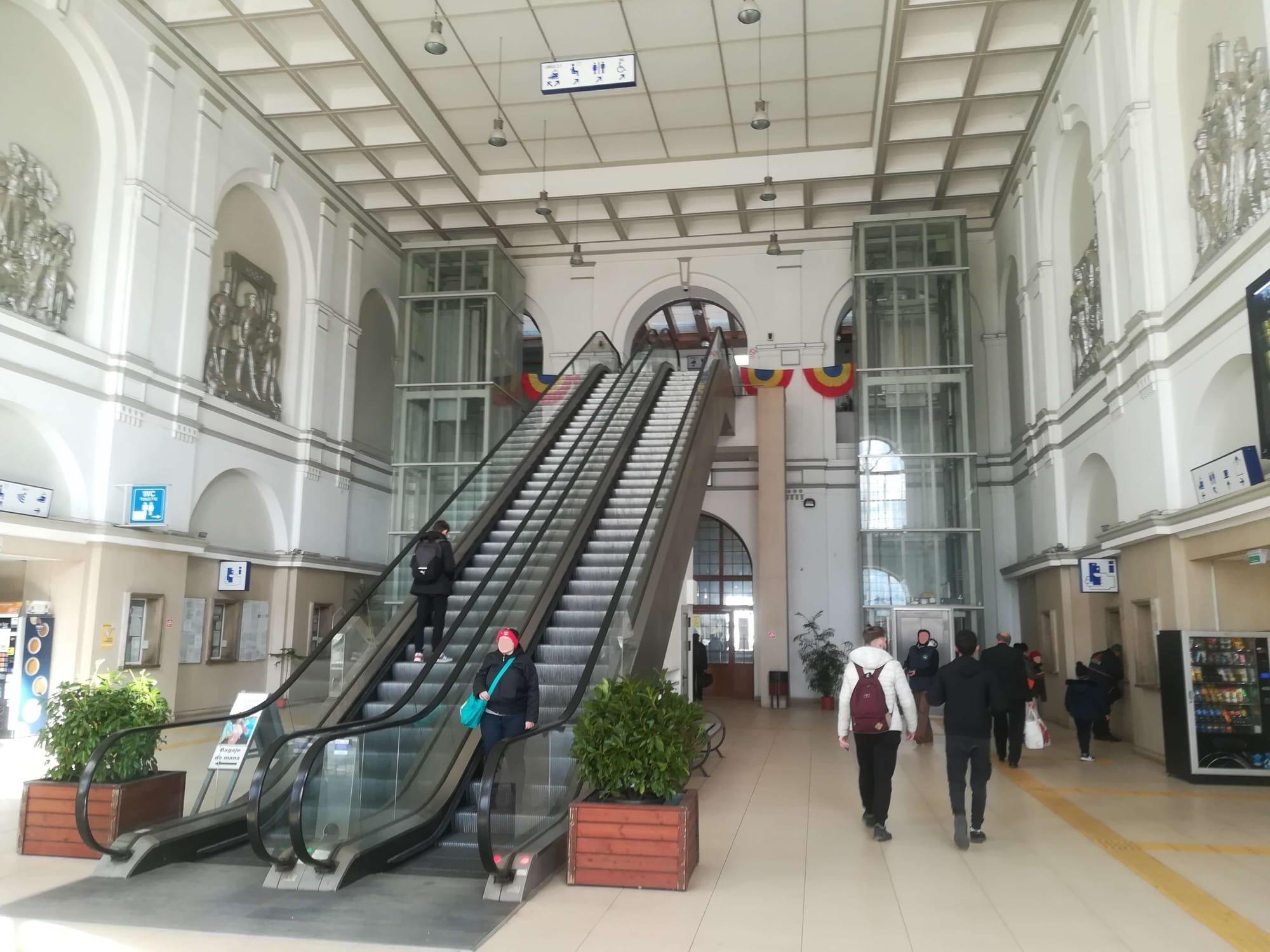 hol Gara centrală Arad