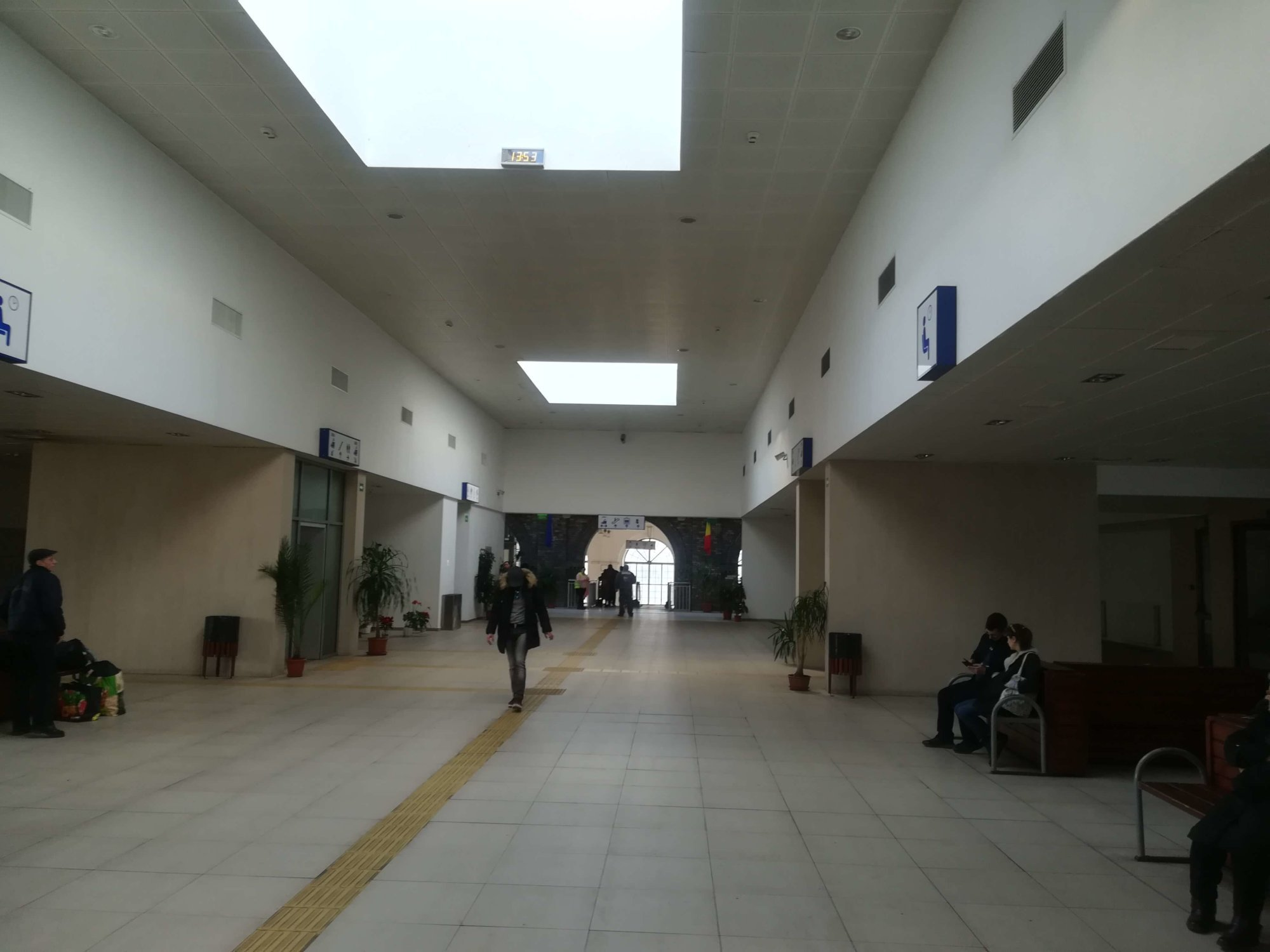 pasaj Gara centrala Arad