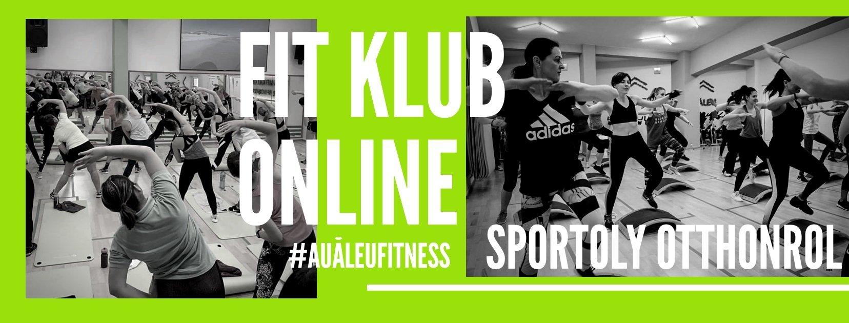 fitnesz klub online