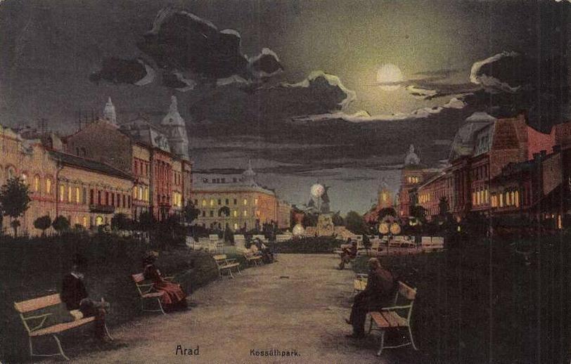 aradul noaptea in secolul 19