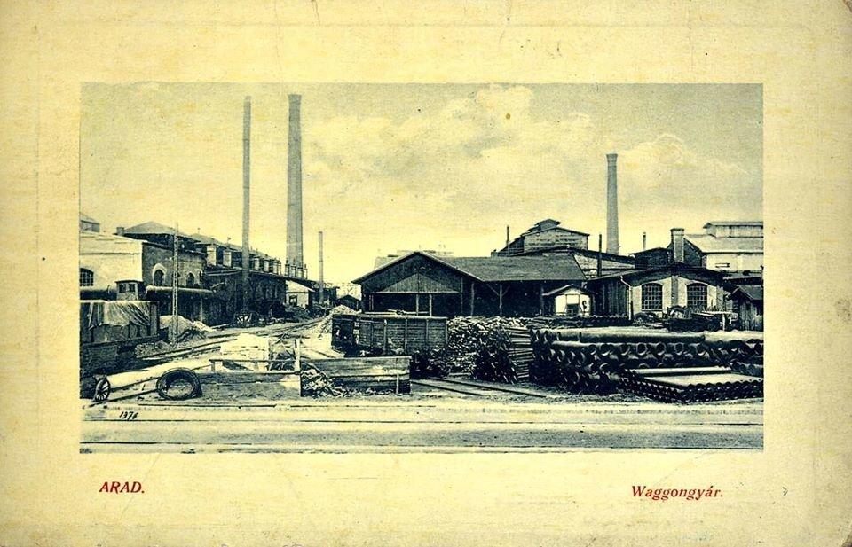 fabrica de vagoane arad