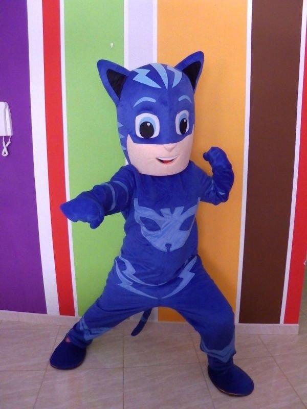 Mascotte Super Pigiamini Gattoboy