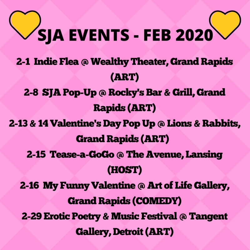 FEB 2020 EVENTS