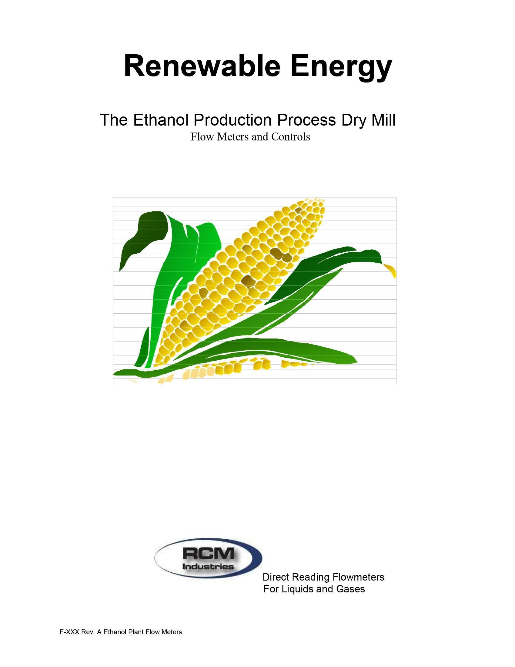 Case Study Ethanol Plant Flow Meter